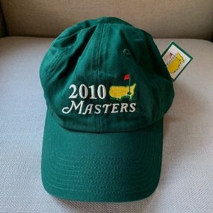 Official Merchandise 2010 Masters - Golf Cap NWT